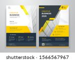 corporate business cover or... | Shutterstock .eps vector #1566567967