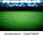 Soccer Field And The Bright...