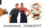 burger house  small business... | Shutterstock .eps vector #1566810757