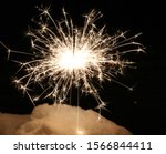 Small photo of A sprakiling sparker on a new years eve.