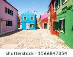 burano  italy    may 2  2019 ... | Shutterstock . vector #1566847354