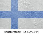 image of the finnish flag on a... | Shutterstock . vector #156693644