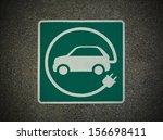 ev   electric vehicle charging...   Shutterstock . vector #156698411