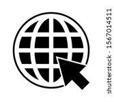 web icon. website vector icon.... | Shutterstock .eps vector #1567014511