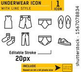 underwear vector icon...