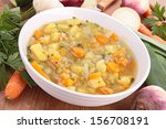 bowl of soup | Shutterstock . vector #156708191