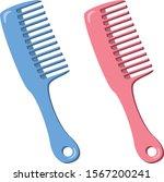 comb image illustration  blue...   Shutterstock .eps vector #1567200241