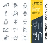 lineo editable stroke   power... | Shutterstock .eps vector #1567229497