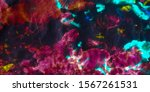 Dirty Fabric Pattern. Neon...