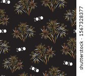 2020 fireworks happy new year...   Shutterstock .eps vector #1567328377