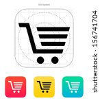 shopping cart  trolley icon....