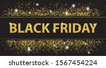 black friday paper banner with... | Shutterstock .eps vector #1567454224