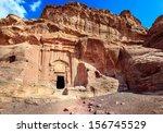 petra  jordan | Shutterstock . vector #156745529