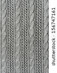 Gray Openwork Wool Knitting...