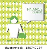 finance careers | Shutterstock .eps vector #156747239