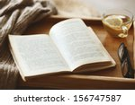 Warm Knitted Sweater And A Book ...