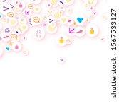 social media marketing ... | Shutterstock .eps vector #1567533127