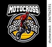 motocross vector logo...   Shutterstock .eps vector #1567562551