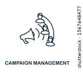 campaign management outline... | Shutterstock . vector #1567648477