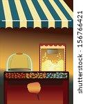 candy shop | Shutterstock .eps vector #156766421
