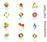 set of web icons. vector. | Shutterstock .eps vector #15677059