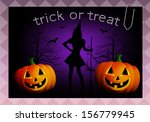 happy halloween | Shutterstock . vector #156779945