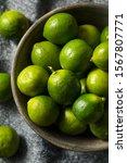Raw Green Organic Key Limes...
