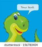 monster party card design.... | Shutterstock .eps vector #156783404