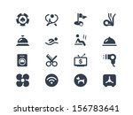 hotel services icons | Shutterstock .eps vector #156783641