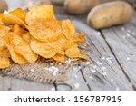 Heap Of Paprika Potato Chips O...