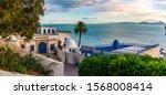 Sidi Bou Said Town In Tunisia...