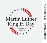 martin luther king jr. day.... | Shutterstock .eps vector #1568039917