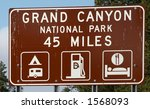grand canyon national park road ... | Shutterstock . vector #1568093