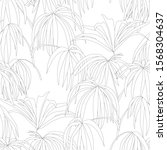 seamless tropical pattern with  ...   Shutterstock .eps vector #1568304637