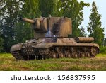 Soviet Heavy Tank Of The Times...