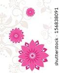 flower pattern background   Shutterstock . vector #156838091