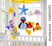 baby mobile   kids toys | Shutterstock . vector #156841451