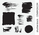 monochrome abstract vector...   Shutterstock .eps vector #1568426134