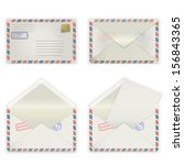 A Set Of Four Envelopes With...