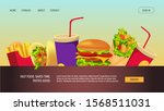 landing page design for fast... | Shutterstock .eps vector #1568511031