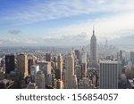 beautiful view of new york city | Shutterstock . vector #156854057