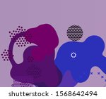 small detail backdrop texture.... | Shutterstock . vector #1568642494