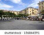 nice  france        september... | Shutterstock . vector #156866591