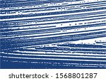 grunge texture. distress indigo ... | Shutterstock .eps vector #1568801287