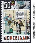netherlands   circa 1984 a... | Shutterstock . vector #156880634