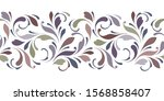 floral seamless pattern for... | Shutterstock .eps vector #1568858407
