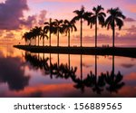 Sunrise At Cutler Bay Near...
