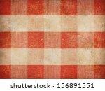 Vintage Gingham Tablecloth...