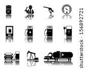 gas station sign. illustration... | Shutterstock .eps vector #156892721