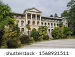 the building of an abandoned... | Shutterstock . vector #1568931511